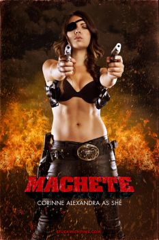 Machete - She by stuckwithpins