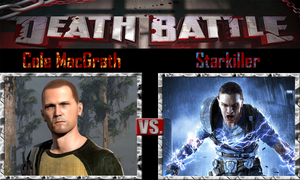 Cole MacGrath vs Starkiller by SonicPal