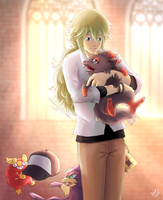 N and Zorua by Selven7