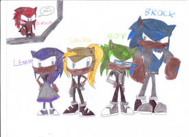 Meet Buroka's Brothers and Sisters by sonic4ever760