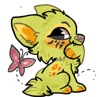 Chibi Soybean by griffsnuff