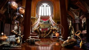 Wind in the Willows -Toad Hall by zeeworks