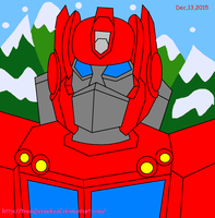 Optimus Prime G1 Coca Cola Truck! by teamlpsandacnl