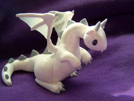 White Dragon- commission by N-Chiodo