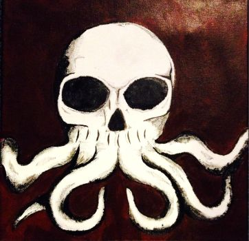Skulltopus (iPhone pic) by K-A-D-E