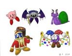 The Kirby Characters by ToaJahli