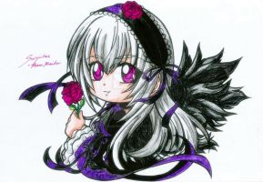 Chibi Suigintou by darkmotives