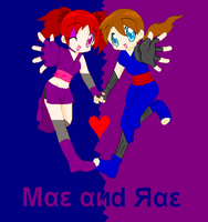Mae And Rae by kags2715