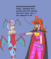 Lina meets Lillith by NickyVendetta
