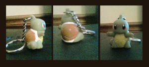 Squirtle Keychain by Jacklave