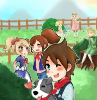 Harvest moon contest thingy by jackiekawaii