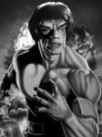 The Incredible Hulk Print for Lou Ferrigno by corysmithart