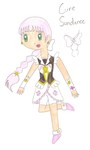 Happiness Charge Precure OC: Cure Sundance by FireChick12012