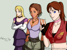 The Three Winners -Gals Vers.- by Biohazard-Steph