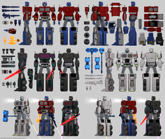 Optimus Prime Reference Sheet by 100SeedlessPenguins