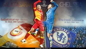 GALATASARAY - CHELSEA by asumandogan