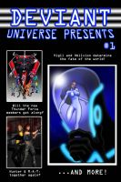 DU Presents Issue 1 by mja42x