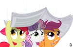 CMC - sheltering from the rain (full version) by JoeMasterPencil