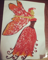 Fairy(Quilling) by TheFabulousPotato