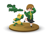 Chie et Kungfouine by CupcakeAmande