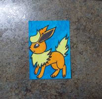 Flareon ACEO by chkimbrough