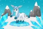 glaceon by someponyhere