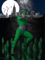 Batman's Riddler by BlackSheepArt