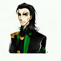 Loki - second by Marionnettee