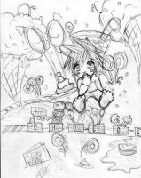 L in candy land by babysaki