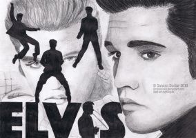 Elvis The King by ItsDaniDee