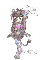 My New Character....... by AsisTheHedgehog