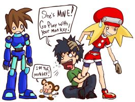 Megaman Legends Fanboyism by camac