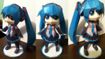 Miku Hatsune Papercraft by Serenity-Within