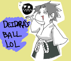 DEIDARAZ BALLZ LOL by Akagumo
