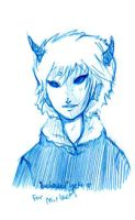 Bedhead Yeti, for Mirlace. by chlo-bou