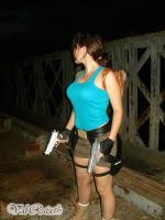 Lara Croft - Old bridge by Val-Raiseth
