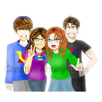 The Epic VT Sibs by CreativeAnonymous