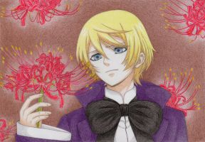 Alois - Spider Lily by winry7405