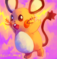 Dedenne by MusicalCombusken