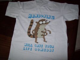 Regular T-shirt/Hamboning by abrilmazziotti