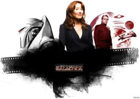 BSG Artwork: Mary McDonnell by chrislink