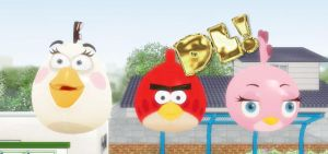MMD : Angry Birds Pack DL by Silver-Nova-07