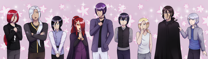 Ponytail party by TerminusLucis