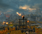 The Siege of Whiterun by paultheslayer