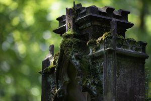 the old cemetary IV by MooseBag