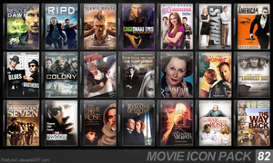 Movie Icon Pack 82 by FirstLine1