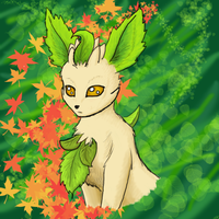 Leafeon by SqueekyClean-801