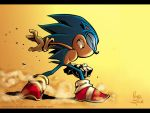 Sonic The Hedgehog Wallpaper by RenaeDeLiz