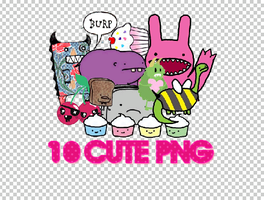 1O CUTE PNG + by Discopada