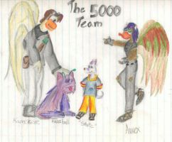 Year 5000 Team by ToonQueen